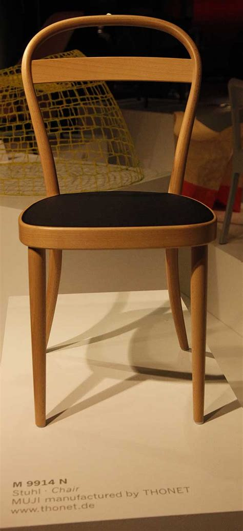Muji Chair by Muji Thonet No 14 By Irvine At 2011 Imm Cologne 10
