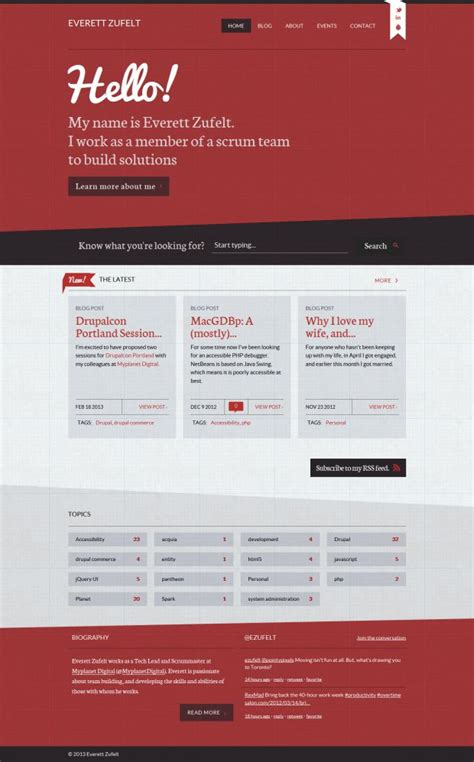web design from home inspirational freelance web design everett zufelt freelance webdesign inspiration www