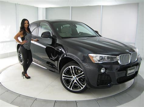 matte black x4 bmw new bmw x4 35i m sport package 20 quot m wheels carbon black