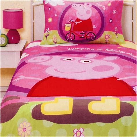pig bedding top 28 peppa pig comforter set peppa pig junior cot