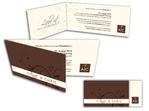 Einladungskarten Hochzeit Rolle by Hochzeitseinladung Rolle Hemmersbach Druck