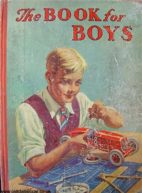 the book of boys just for books childrens car books and annuals 1920s 1960s