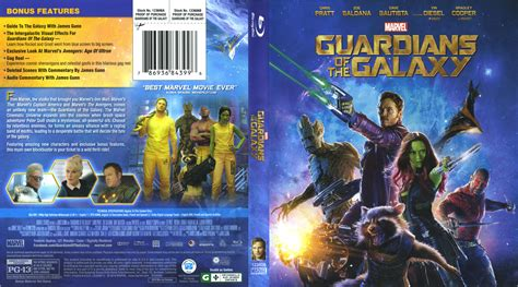 3d Room Escape guardians of the galaxy blu ray cover amp label 2014 r1