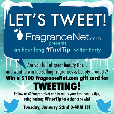 Fragrancenet Gift Card - twitter party viii eau talk the official fragrancenet