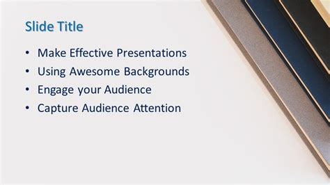 books powerpoint template  powerpoint templates