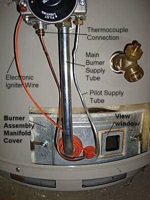 do water heaters have pilot lights pilot light keeps going off doityourself com community