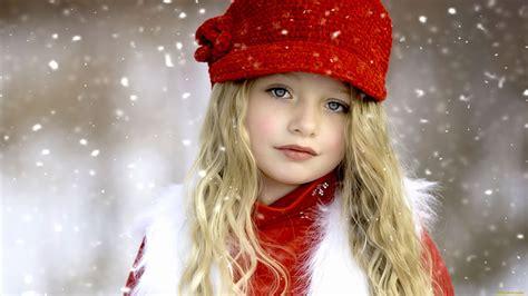 wallpaper girl in cap children snow cap wallpapers 1920x1080 477202