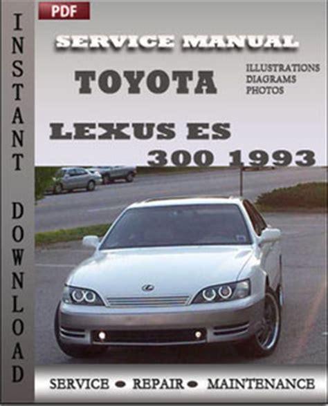 car repair manuals online pdf 1993 lexus sc seat position control toyota lexus es 300 1993 repair manual pdf online servicerepairmanualdownload com