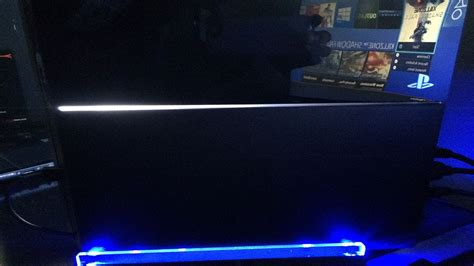 and light ps4 playstation 4 tosa blue light vertical stand