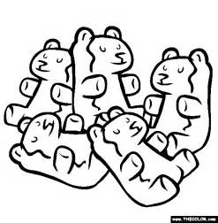 gummy bear coloring pages gummi bears coloring page free gummi bears online coloring