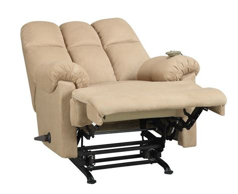 couch for men tan couch rocker reclining chair padded massager furniture