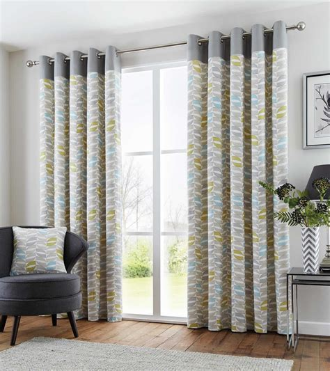 washable ready made curtains copeland geometric retro lined eyelet curtains ready made