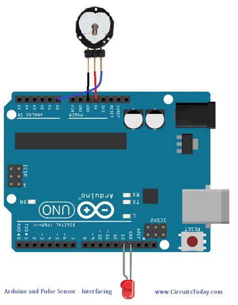 code arduino pulse sensor pulse sensor and arduino interfacing