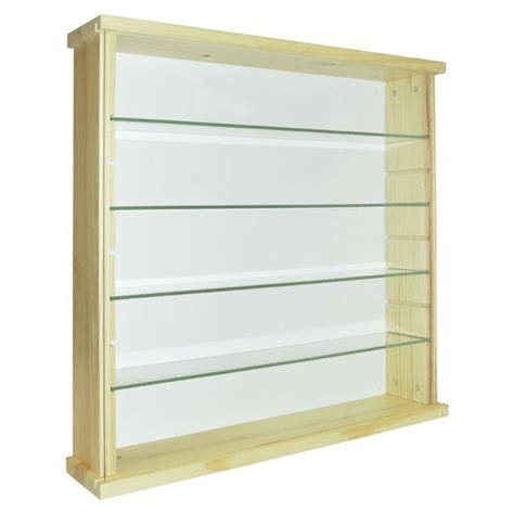 Glass Cabinet Argos by Buy Solid Wood And Glass Display Unit Pine At Argos Co