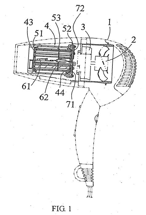 patent ep1836919b1 hair dryer comprising a heat