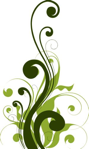desain ornamen bunga pola bunga hiasan domain publik vektor