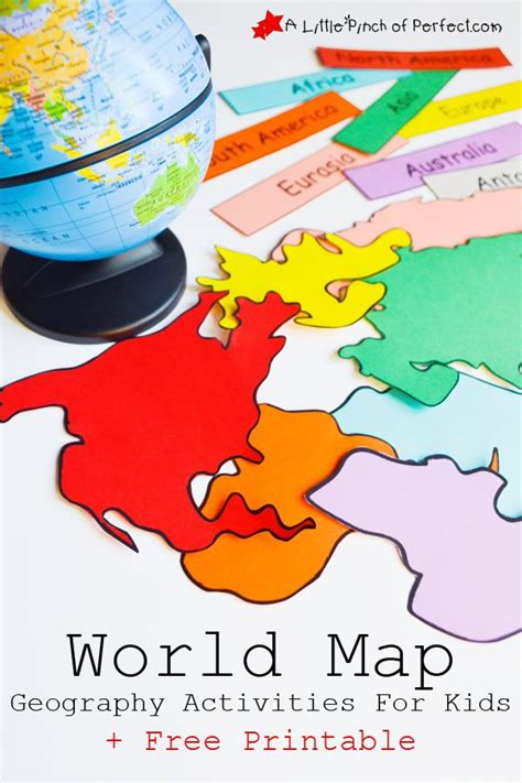 printable world map in sections 17 best ideas about map activities on pinterest the map