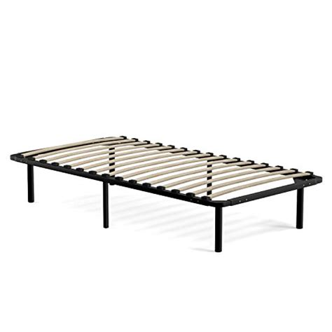 wooden slat bed frame handy living wood slat bed frame twin new