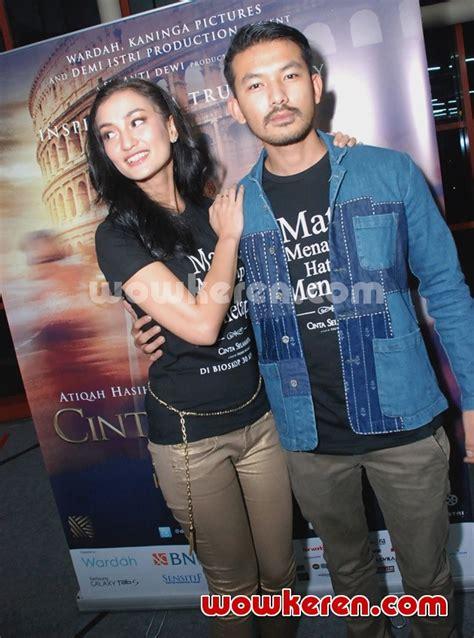 film online cinta selamanya foto atiqah hasiholan dan rio dewanto di press screning