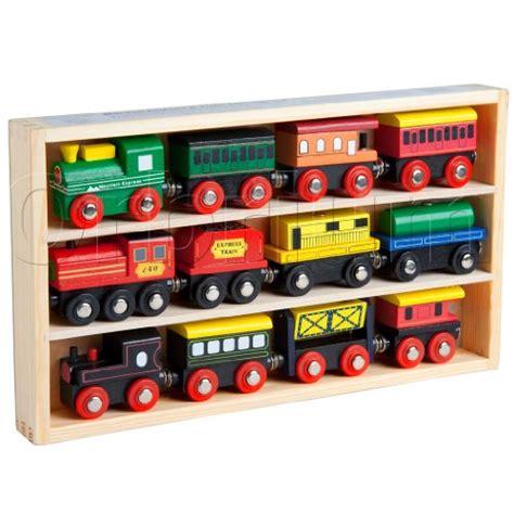 chuggington brio cheap 12 pcs wooden engines train cars collection fits