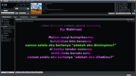 tutorial membuat video lirik lagu cara memasang lirik lagu di win raflyzea agara