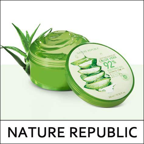 Nature Republic Aloe Vera 92 Soothing Gel 300ml Review nature republic big sale 40 soothing moisture