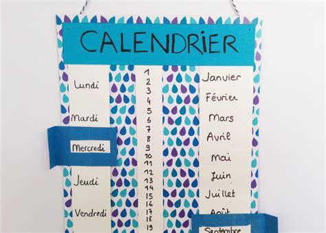 Fabriquer Un Calendrier Perpetuel Calendrier Perp 233 Tuel Momes Net