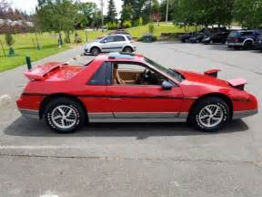 Pontiac Fiero Top Speed 1985 Pontiac Fiero Gt 4 Speed 40 700 Original