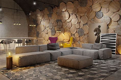 rivestimento parete soggiorno rivestimenti per pareti soggiorno 30 idee di design