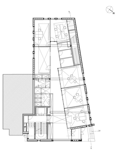 admin building floor plan gallery of administrative building for the oeko center