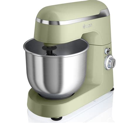 Mixer Kitchen buy swan retro sp25010gn stand mixer green free delivery currys