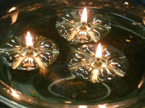 100 silver reusable floats 100 long burning wicks