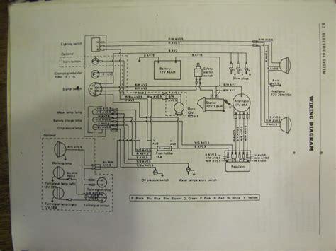 yanmar 2500 alternator wiring diagram yanmar conversion