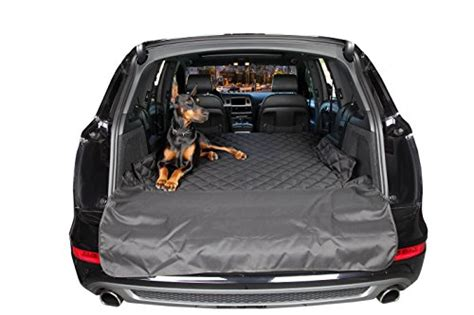 Cargo Liners For Suvs 4knines Large Non Slip Water Resistant Cargo Cover Black