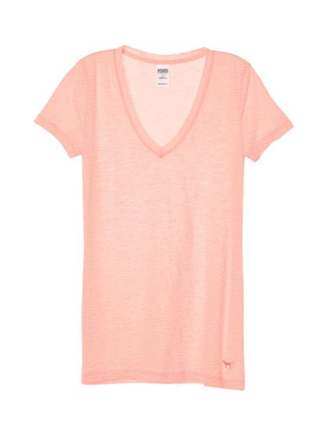 10 Cutest Victorias Secret Pink Items by Secret Pink V Neck T Shirt Buyma