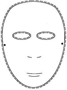 Masque Of The Worksheet by Blank Mask Worksheet Search Education