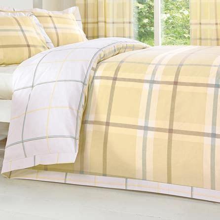 Target Threshold Bedding Lemon Colonial Check Collection Duvet Cover Dunelm