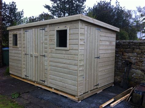 Price Of Storage Sheds by Affordable Heavy Duty Pent Shed Prices Available