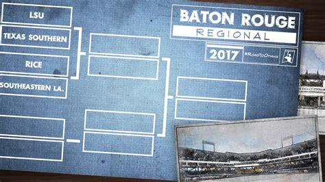 section 6 baseball playoff schedule 2017 ncaa baseball tournament eight sec teams in