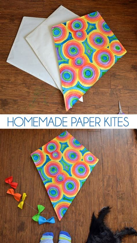 How To Make A Paper Bag Kite - diy kite ideas diy projects craft ideas how to s for
