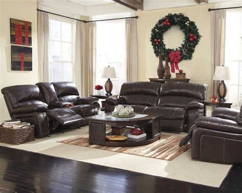 Kathy Ireland Bedroom Furniture Collection damacio power reclining living room set in dark brown