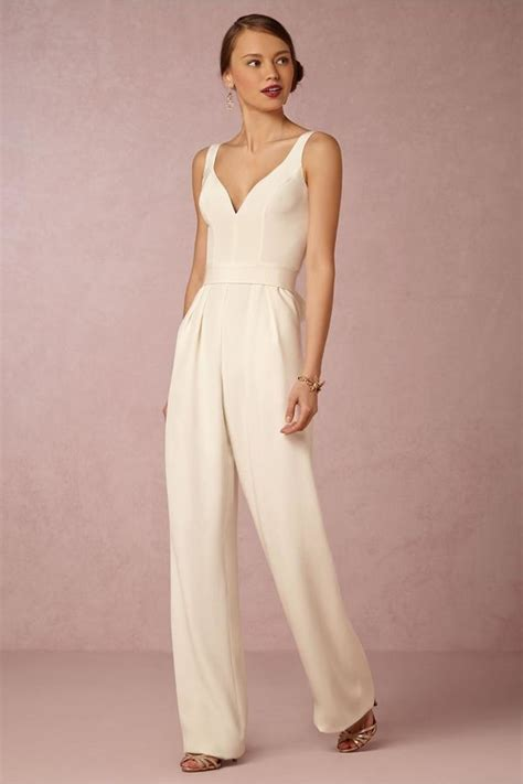 Wedding Dress Jumpsuit by Modern Bridal Jumpsuits Pantsuits Mywedding