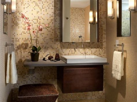 decorative ideas for small bathrooms 10 decorative small bathroom backsplash ideas with