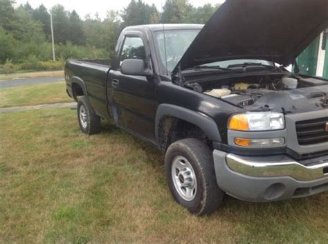 how does cars work 2004 gmc sierra 2500 transmission control find used 2004 gmc sierra 4x4 automatic black regular cab in waterville maine united states