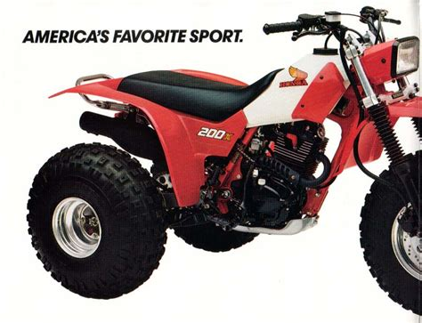 Bettdecke 200 X 200 by The 1984 Honda Atc 200x