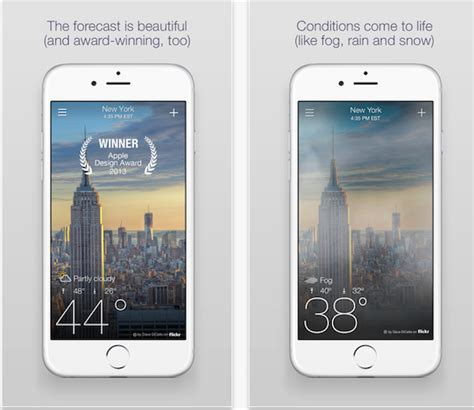 designing your first iphone app hack design image gallery weather 6