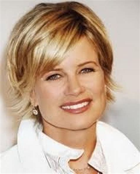 short cuts for thin faces short hairstyles for thin hair and round face