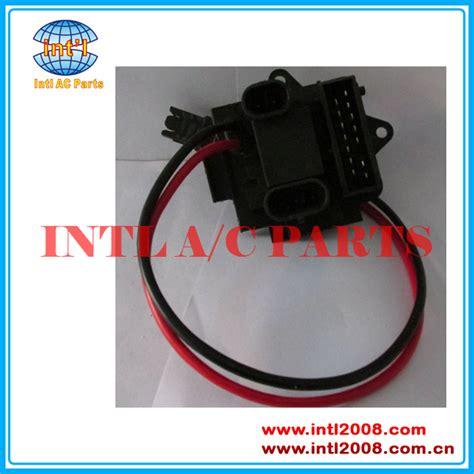 jeepanche eliminator blower motor resistor specifications