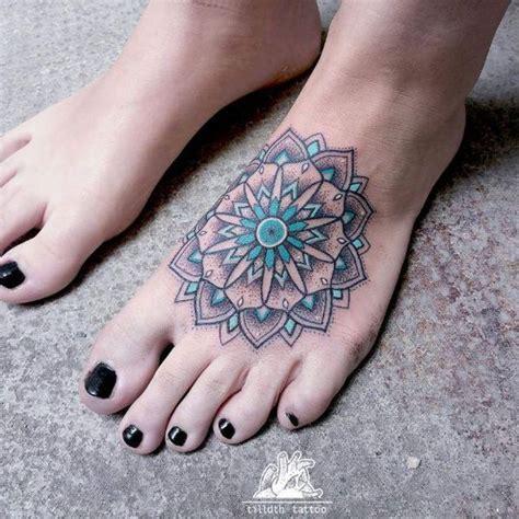 tattoo mandala pie 17 mejores ideas sobre mandala foot tattoo en pinterest