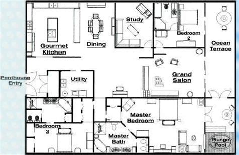 luxury penthouse floor plans quot international liner luxury home luxury penthouse homes front penthouses for sale